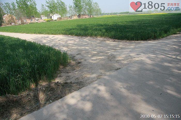 从这里开始通向村里,现在是五月且没有下雨所以感觉不出来土路泥泞