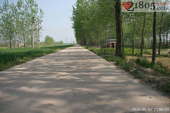 村口的路虽然也不是很宽,但毕竟是水泥路,下雨天也方便出行和种地