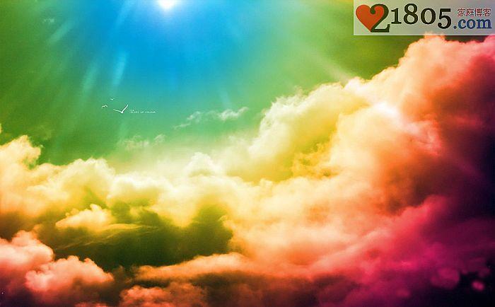 浮云往往都很漂亮