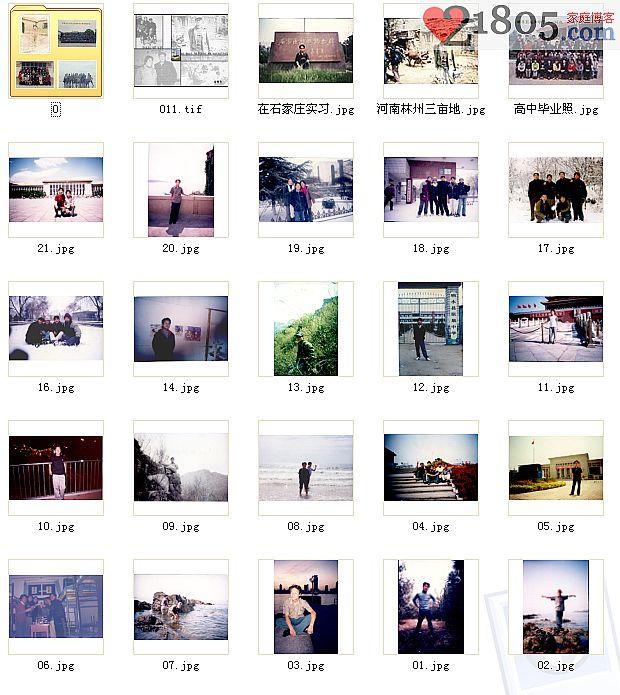 每张照片都能激起一段回忆